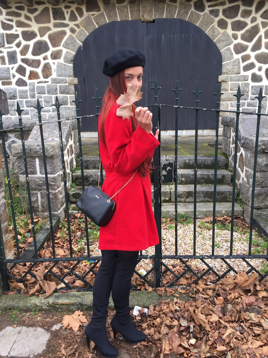 Abrigo rojo - Red coat