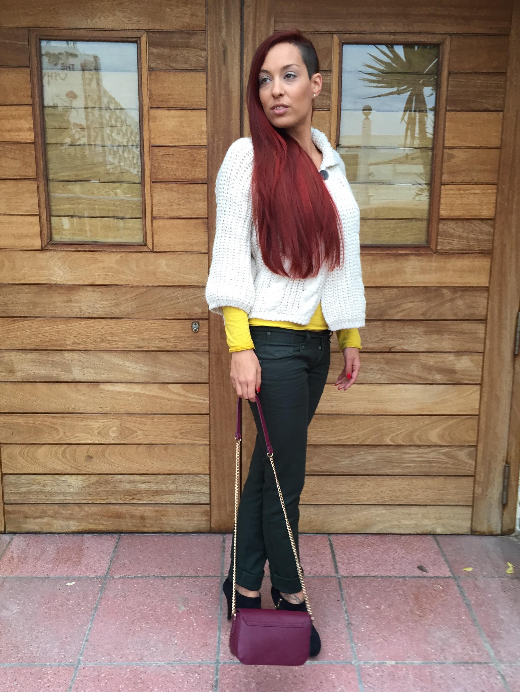 color look: como combinar pantalones verde pino