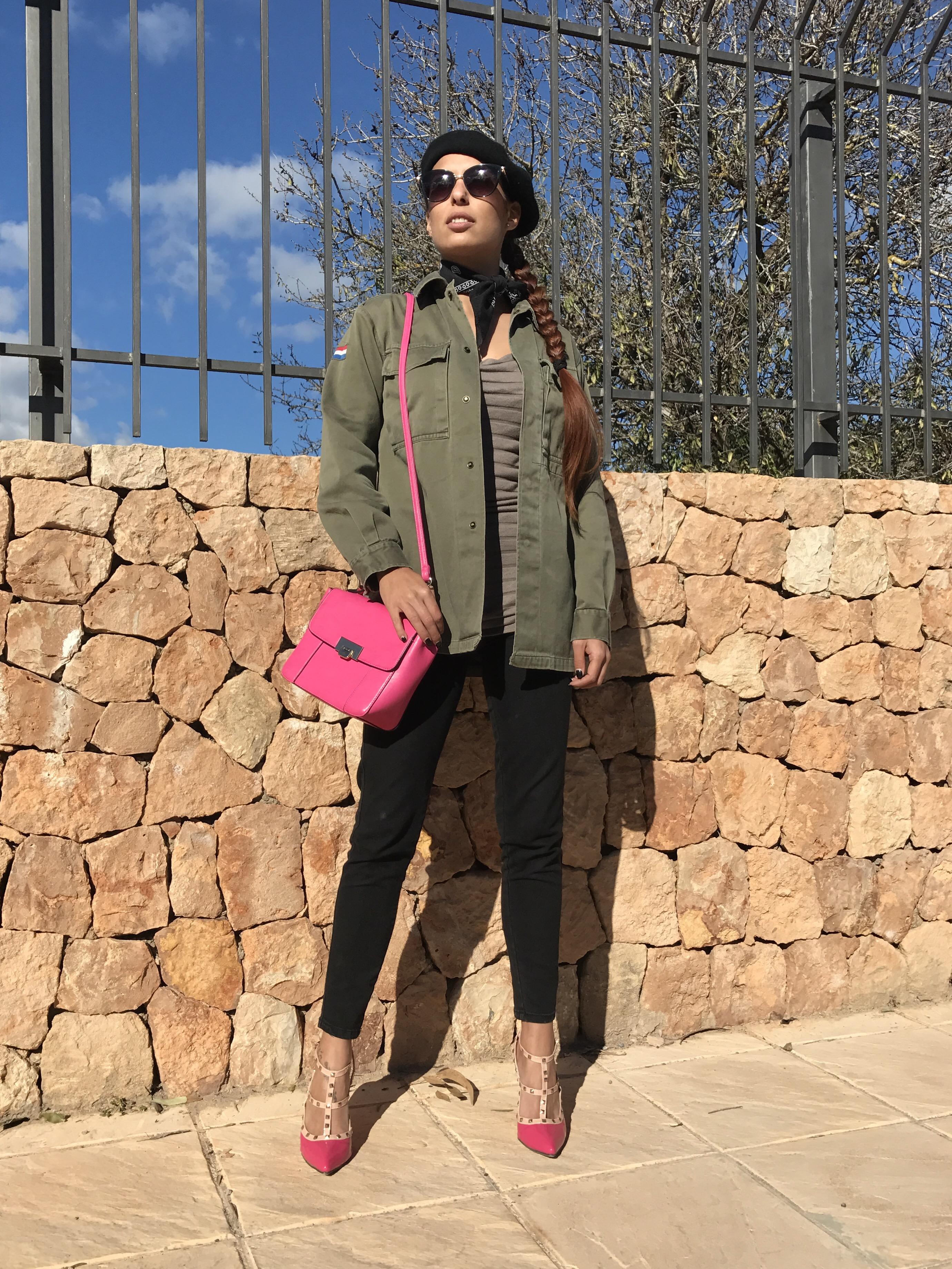6113c1379 Sobrecamisa militar de Morgan Surplus – Mi cóctel de moda – Ibiza ...