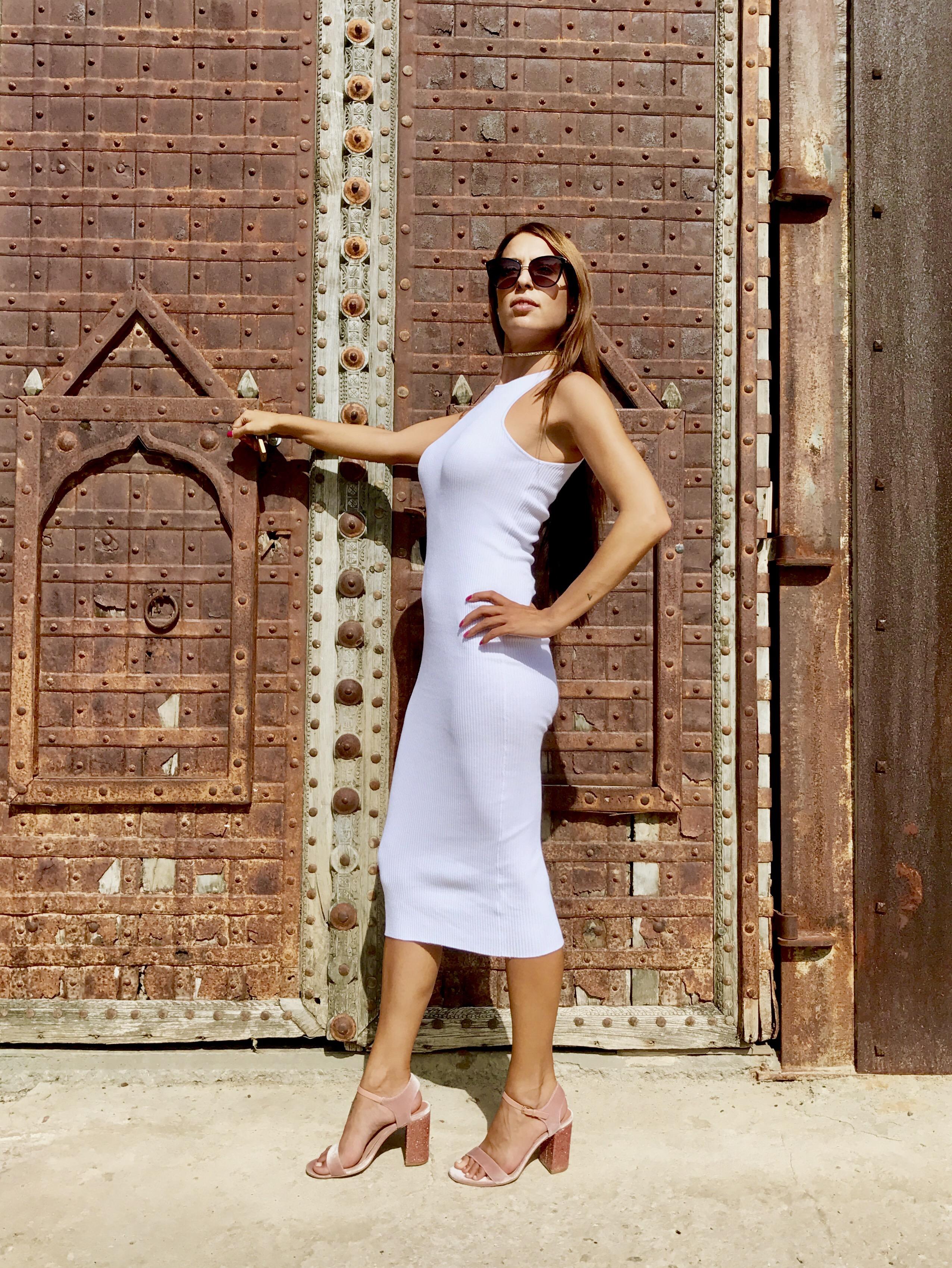 Moda Mi Look – Ibiza Ajustado Fashion De Cóctel Blanco Vestido qr0IgFw0H 0ef563fcb209