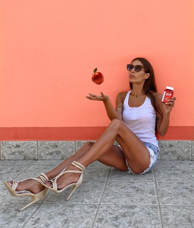 Goli nutrition: gominolas de vinagre de sidra de manzana