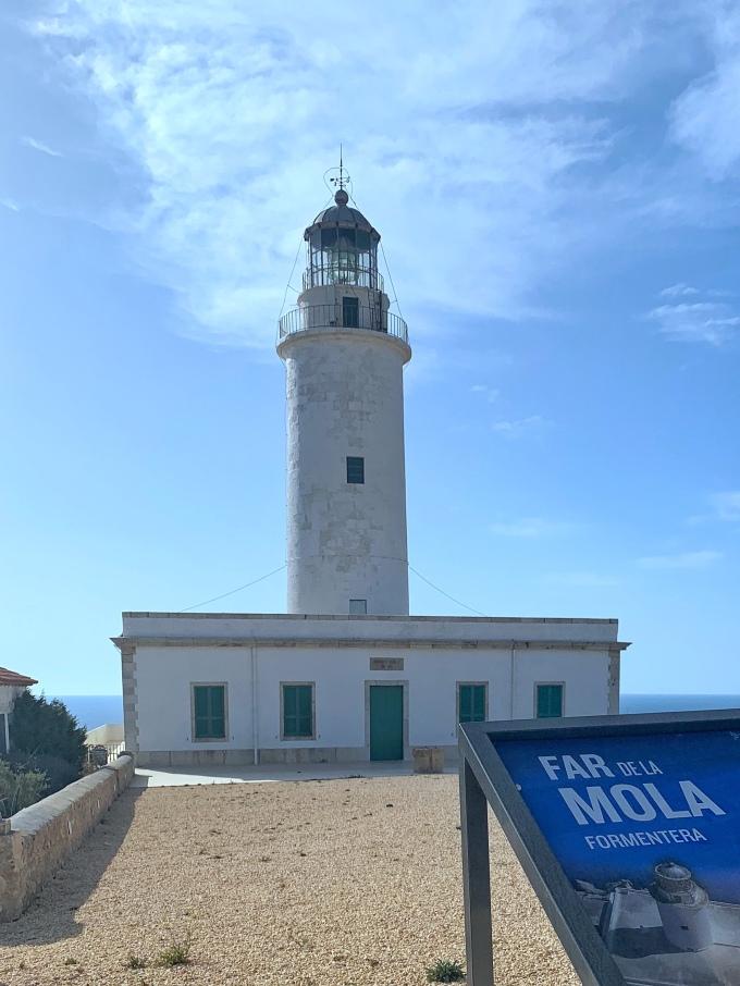 El faro de la mola. Un día en Formentera