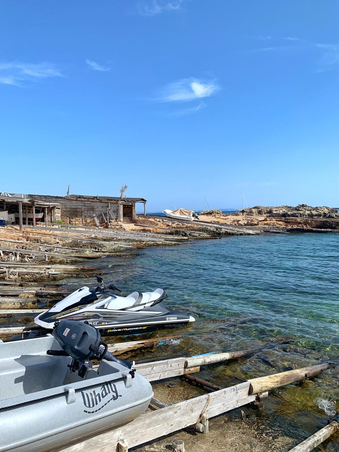 Es caló de Sant Agustí. Un día en Formentera