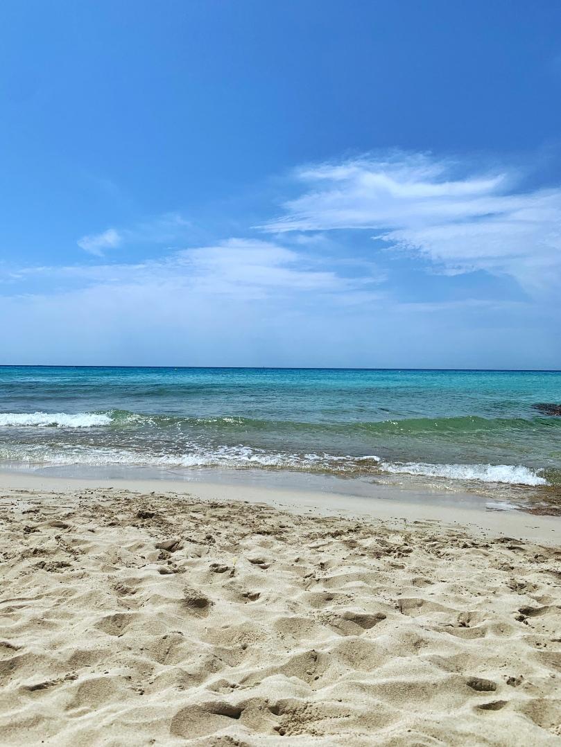 Playa Migjorn. Un día en Formentera