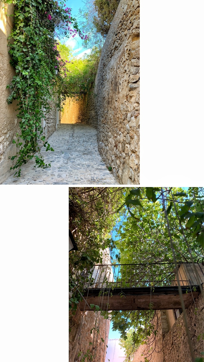 Callejón de la soledad Dalt Vila Ibiza