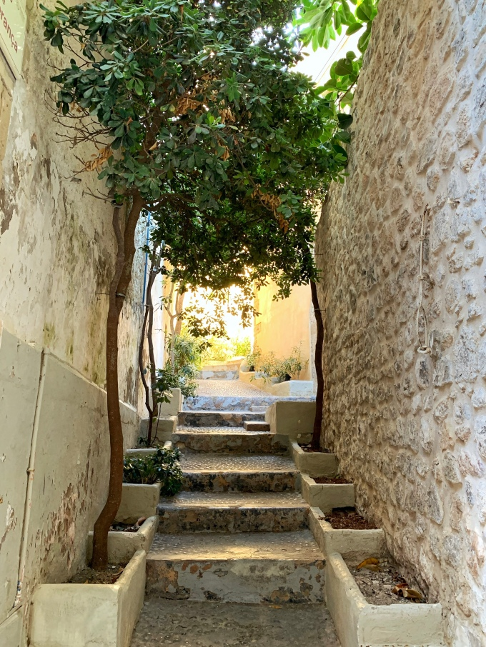Callejón de la esperanza Dalt Vila Ibiza