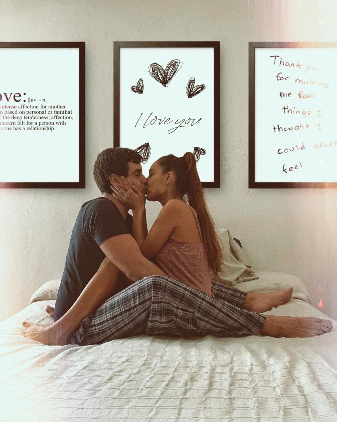 San Valentín, couple goals, Instagram, fotos Instagram, ideas para fotos, fotos en casa, pareja, en la cama