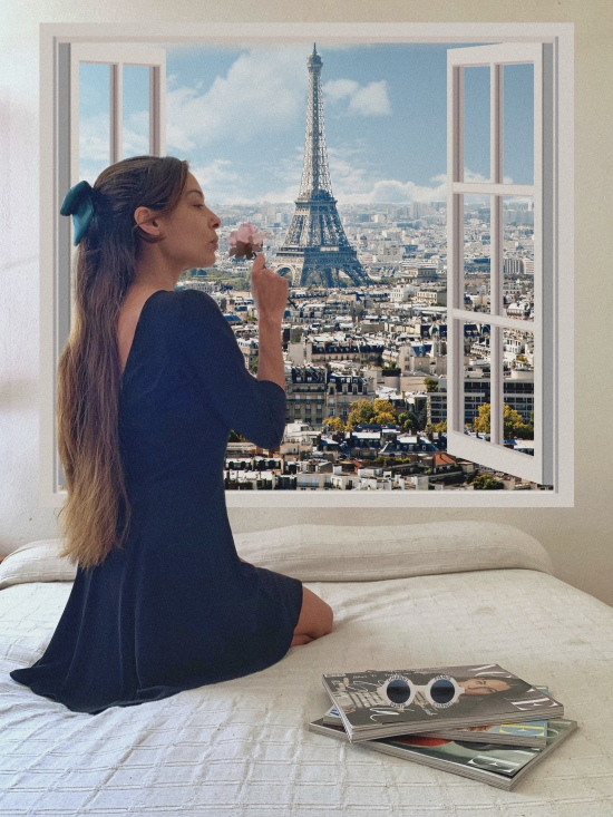 Ideas para fotos en casa Paris inspo